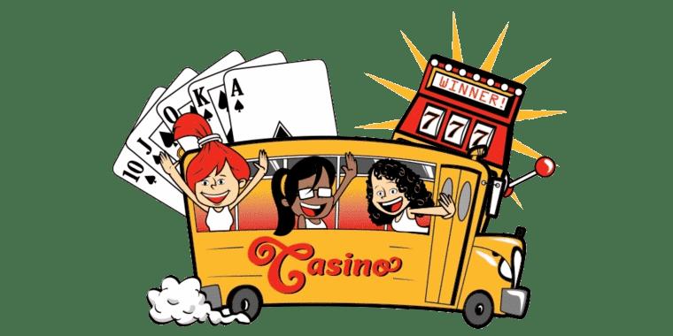 Spela på casino online på bussen